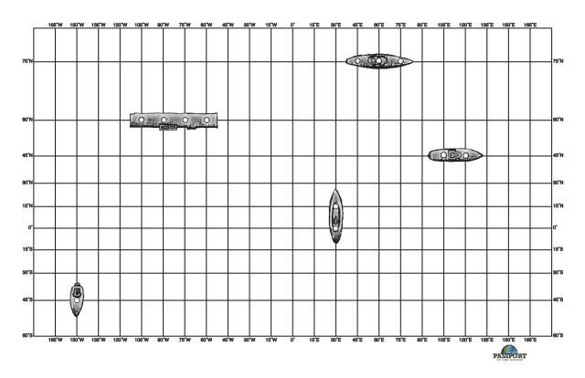 Battleship Coordinates Game  Passport To The Nations