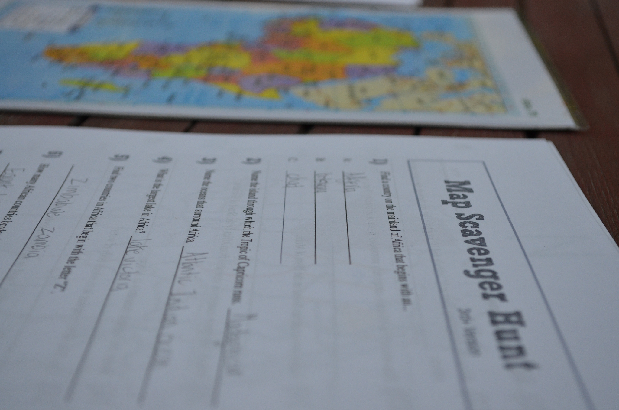 Map africa map scavenger hunt passport to the nations map africa map scavenger hunt gumiabroncs Gallery