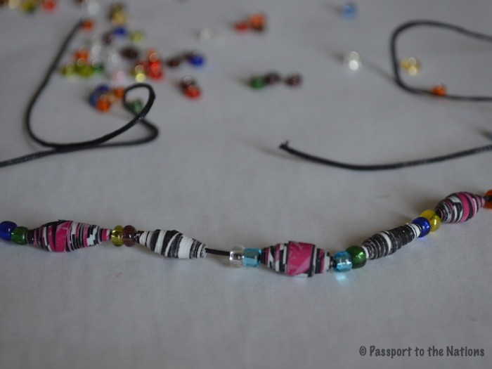 Protected: Paper Bead Necklace