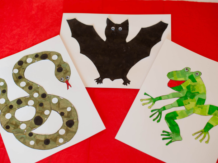 Protected: Rainforest Animal Collage