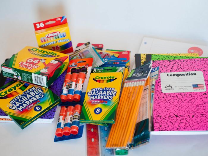 Sending School Supplies