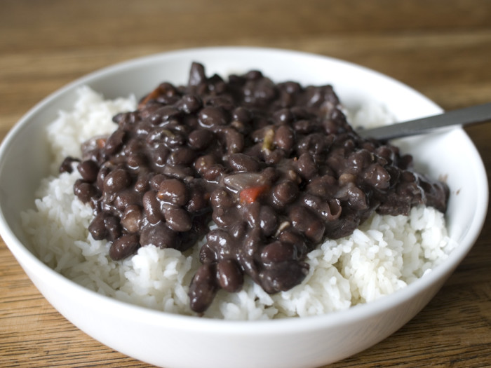 Beans & Rice Lunch